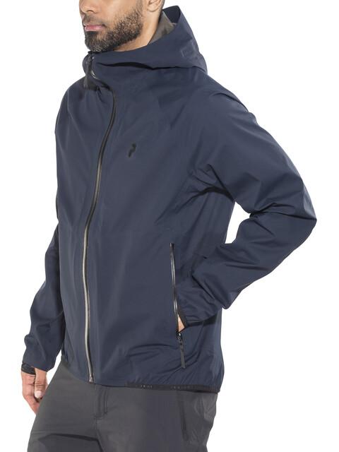 Peak Performance M's Pac Jacket Salute Blue